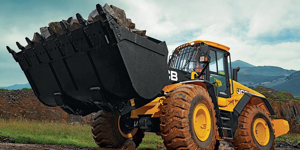 455 ZX JCB wheel loader