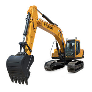 hyundai hydraulic excavator